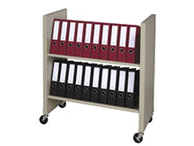 Binder File Rolling Cart