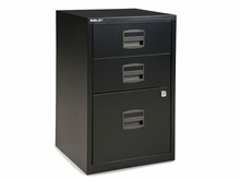 Bisley 3 Drawer Home File Cabinet