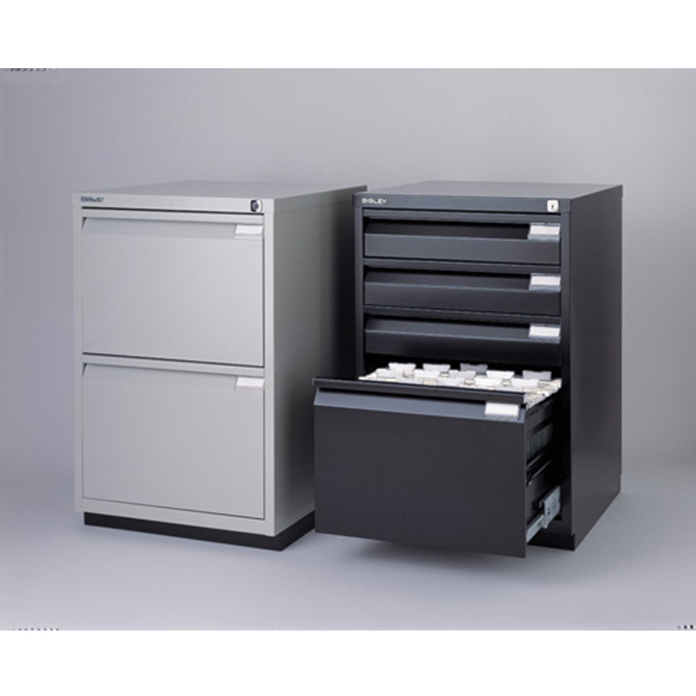 Bisley Premium 2 Drawer File Cabinet