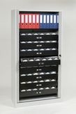 Bisley Tambour Cabinet 78: Multimedia 8-Drawer Unit