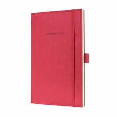 Felt Softcover Lined Notebook – Journal Size (with elastic closure)