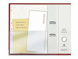 Half Page Self Adhesive Binder Pocket