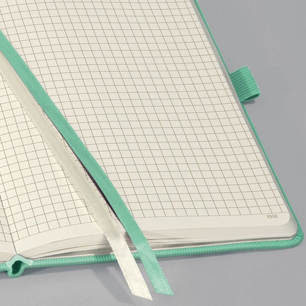 Hardcover Graph Notebook Journal Size With Elastic Closure