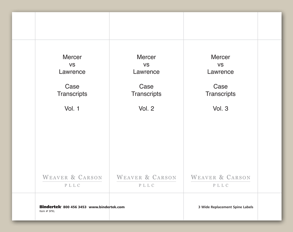 Insertable spine labels for 4 wide binders for 3 inch binder spine template word