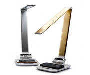 Modern Desk Lamp with Wireless Smartphone Charging