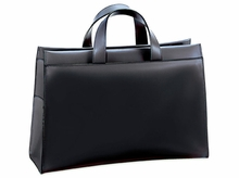 Milano  Wide Gusset Top Zip Briefcase