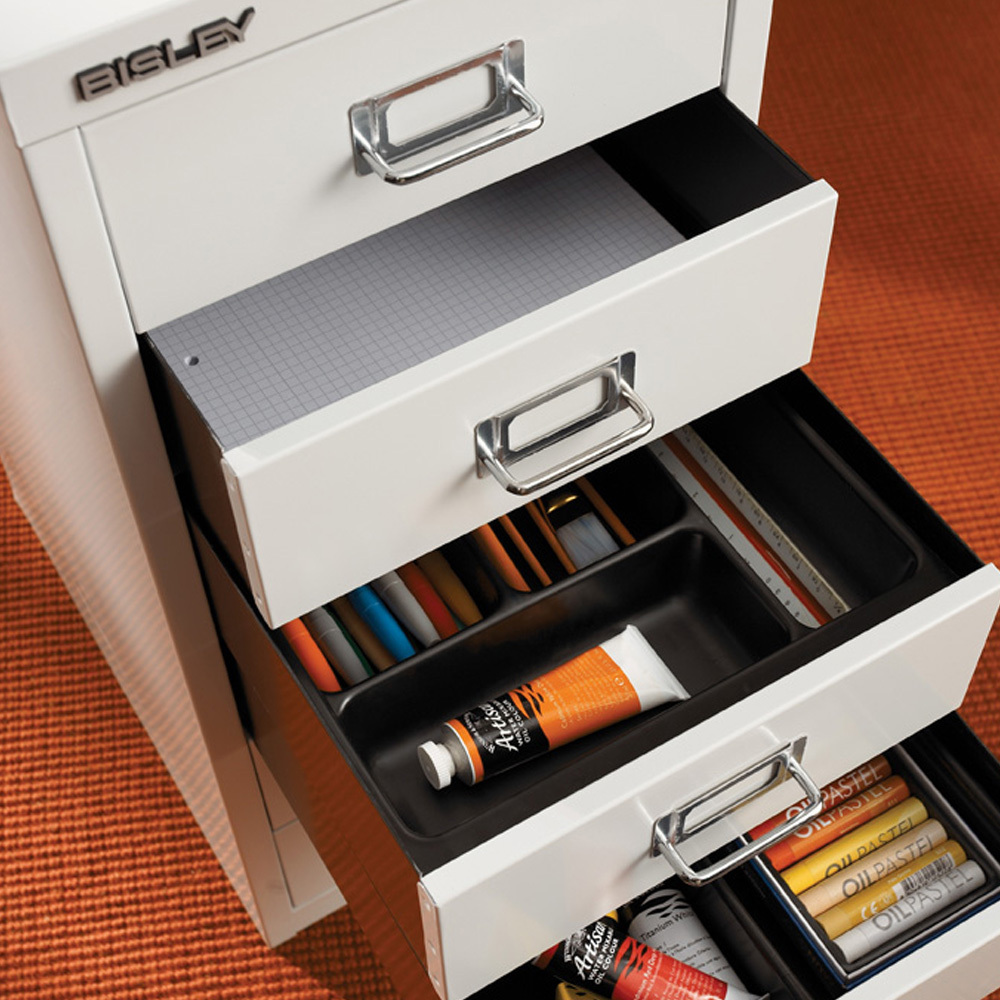 Pen Tray Drawer Insert For Bisley Multidrawer Cabinets
