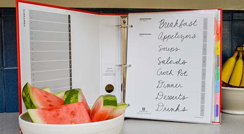 Whip Up Something Delicious with Your New Recipe Binder