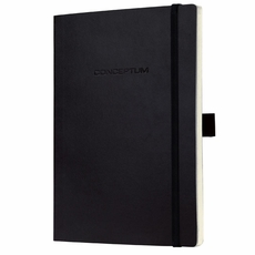 Softcover Lined Notebook – Journal Size (with elastic closure)