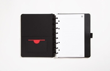 Travel Sized Leather Boundless Disc Notebook