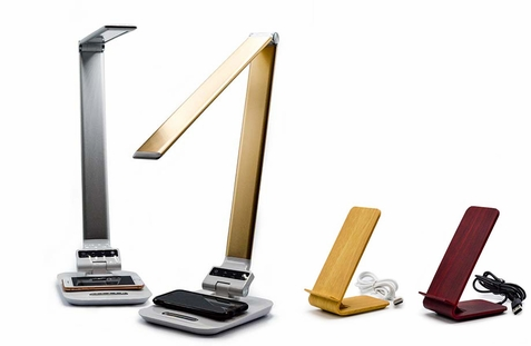 Wireless Charging Stands and Lamps