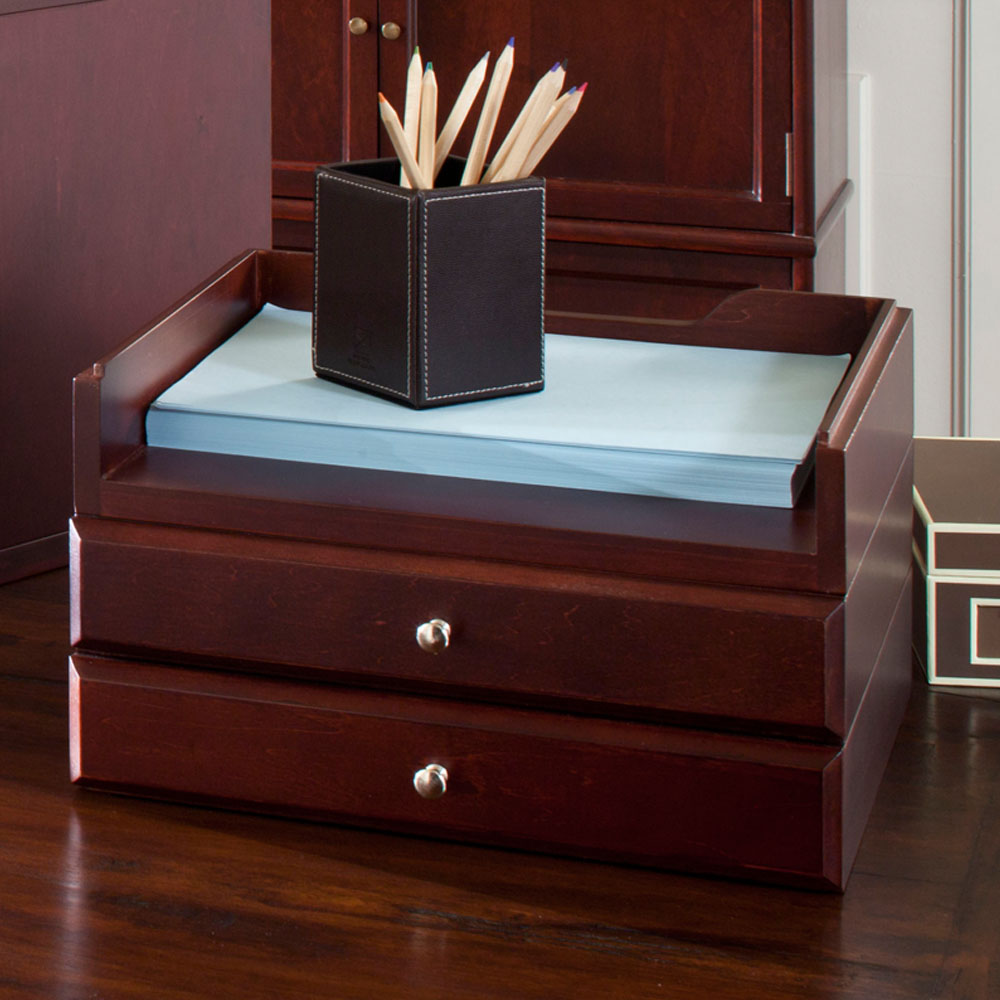 Stackable Wooden Drawers ~ Wood options stacking drawer