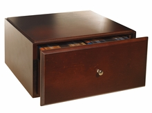 Wood Options Stacking Media Drawer