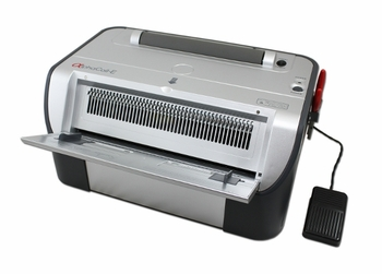 """Akiles Alpha Coil E - 4:1 Electric Coil Punch and Binder <br><font color=""""green""""><b> FREE Shipping within continental USA </font></b>"""