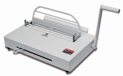 """Atlas 190 / 300 - Metal Channel Binding Machines <br><font color=""""green""""><b> FREE Shipping within continental USA </font></b>"""