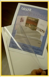 Clear Thermal Binding Covers