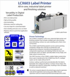 Graphtec Label Printer