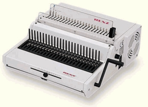 <br>Heavy Duty Punching and Comb Binding Combo Machines