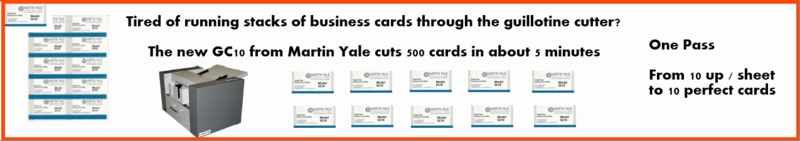 Martin Yale Business Card Cutter GC10