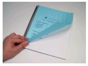 Poly Covers  - Leatherette, Hologram, Crystal  - 50 per pack