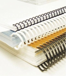 """<font size=""""4"""">Resale: Plastic Spiral Coil Binding </font><a name=""""plastic comb""""><br>"""
