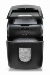 SwingLine Stack and Shred 100M Auto Feed Paper Shredder