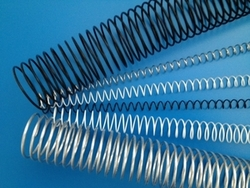"Metal Spiral Coil Supply - 7/16"" / 11mm  - Binds to 76 sheets."
