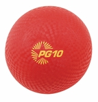 10'' Dia Playground Ball in Red [PG10RD-FS-CHS]