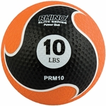 10 lbs. Rhino Elite Medicine Ball in Orange [PRM10-FS-CHS]