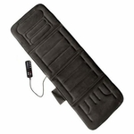 10-Motor Massage Mat with Heat - Gray [60-2907P04-FS-COM]