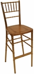 1000 lb. Max Gold Resin Steel Core Chiavari Barstool [RBB900K-RESIN-GOLD-CSP]
