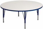 1000 Series Adjustable Round Play Activity Table - 48'' Diameter x 12'' to 23''H [9364R-TOT]