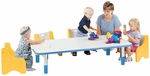 1000 Series Fixed Height Rectangle Activity Table - 30''W x 60''D x 14''H [9034R-TOT]
