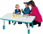 1000 Series Fixed Height Rectangle Height Activity Table - 72''W x 30''D x 14''H [9038R-TOT]
