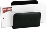 Classic Leather Letter Holder - Black [A1008-FS-DAC]