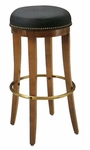 1105 Bar Stool w/ Metal Foot Rest - Grade 1 [1105-GRADE1-ACF]