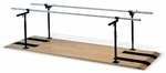 Height and Width Adjustable Parallel Bars - 28''W X 144''L X 29 - 42''H [HAU-1392-FS-HAUS]
