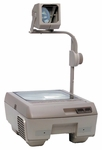 120 Series Overhead Projector w/ Closed Head & Lamp Changer [127-H-LEB-FS-BUHL]