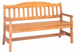 1465 Bench w/ Wood Slat Seat [1465-ACF]