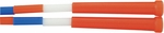 16'' Plastic Segmented Jump Rope in Red,  White,  and Blue - Set of 6 [PR16-FS-CHS]