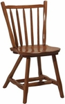 1770 Wood Side Chair with Rustic Styling [1770-ACF]