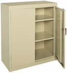 Classic Series 36'' W x 18'' D x 42'' H Counter Height Cabinet with Adjustable Shelves - Putty [CA21-361842-07-EEL]