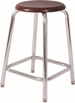 Tubular Fully Welded Stool with Footring - 18''H [W318-NSL]