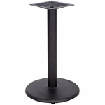 18'' Round Base with 3'' Dia. Table Height or Bar Height Column [BFHD-6-18RBAS-TDR]