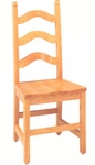 1902 Side Chair with Wood Saddle Seat [1902-ACF]