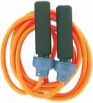 2 lbs. Weighted Jump Rope in Orange [HR2-FS-CHS]