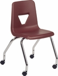 2000 Series Mobile Chair with 18''H Seat - 18.63''W x 21''D x 30''H [2050-VCO]