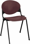 2000 Series Stacking Multipurpose Polypropylene Chair with Steel Frame [2000-IFK]