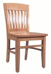 2490 Side Chair with Wood Seat [2490-ACF]