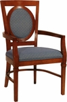 2562 Arm Chair w/ Upholstered Back & Seat - Grade 1 [2562-GRADE1-ACF]